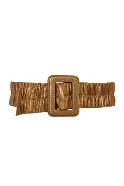 Portia Ruched Belt