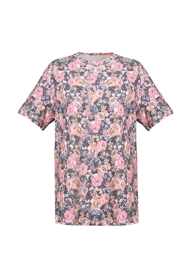 Floral Charts Tee
