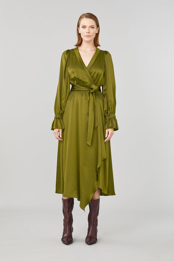 Molten Wrap Dress