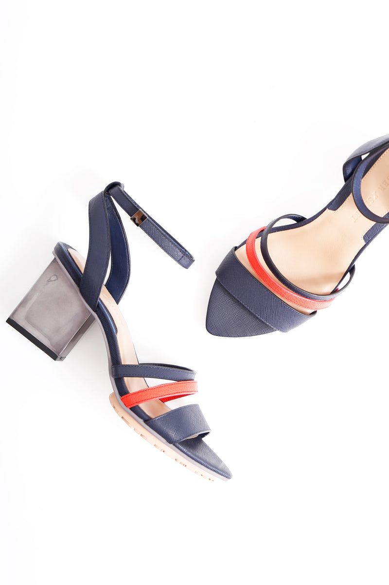 Interconnect Mid Heel Sandal