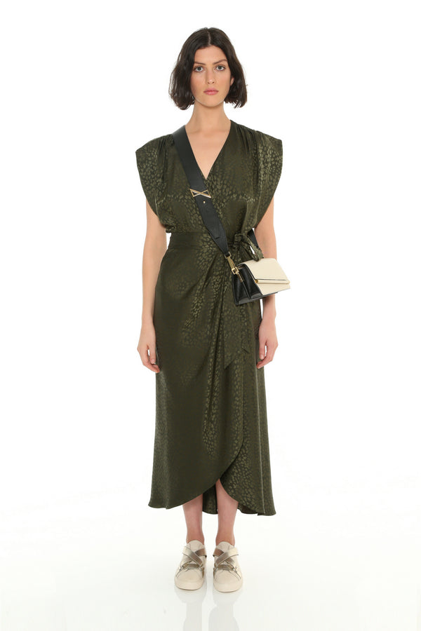 Solace Wrap Dress
