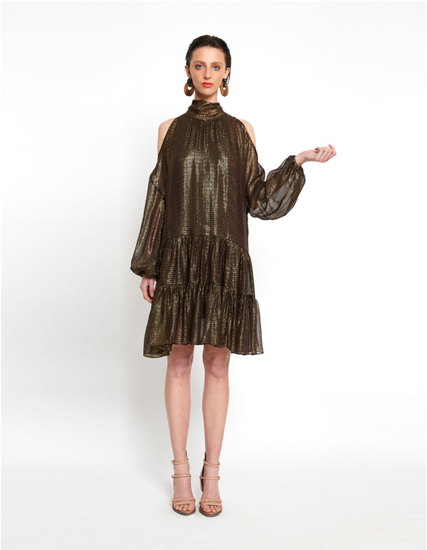 Gilded Collection | Bourgeois mini dress