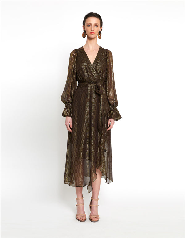 Gilded Collection | Bourgeois wrap dress