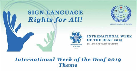 International Day of the Deaf Banner