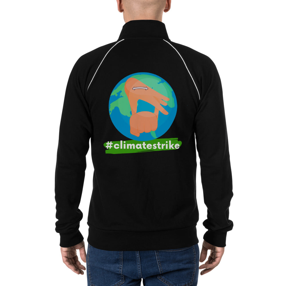 #ClimateStrike Earth Jacket in Sign Language