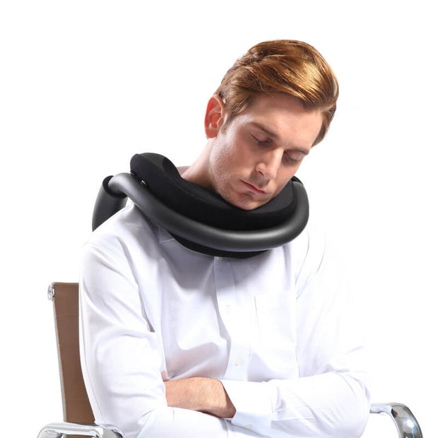 Ergonomic Travel Pillow Neck Stabilizer Head & Neck Support