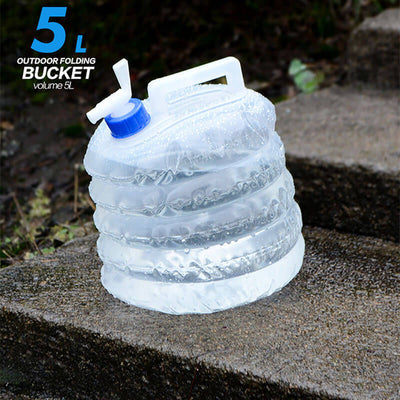 Portable Folding Bucket Camping Container
