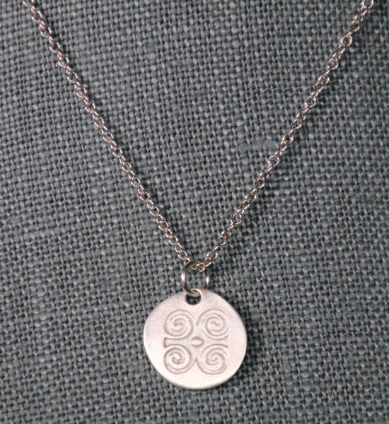 Strength and Humility Charm - Adinkra Collection