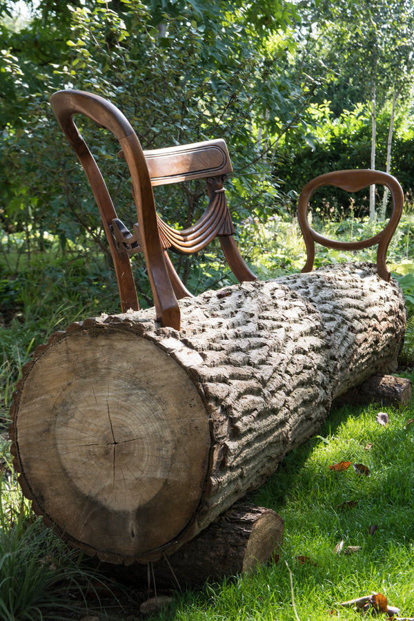 Theatrical Log Seat