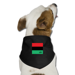 RBG Dog Bandana - black