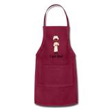 Woman's Apron - burgundy