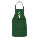 Woman's Apron - forest green