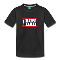 I RUN DAD (Toddler t-shirt) - black