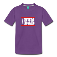I RUN DAD (Toddler t-shirt) - purple