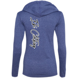Queen's Features: Lips (Ladies' Semi-fitted T-Shirt Hoodie)