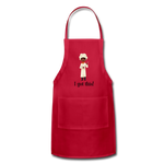 Woman's Apron - red