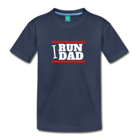 I RUN DAD (Toddler t-shirt) - navy