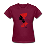 Women's T-Shirt - burgundy