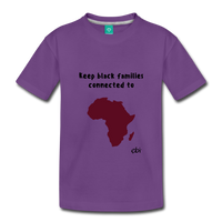Keep Black Families Connected (Toddler T-Shirt) - purple