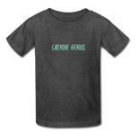 Creative Genius (Kids' T-Shirt) - heather black