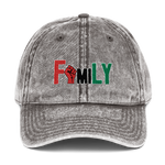RBG Family Fist (Vintage Cotton Dad Hat)
