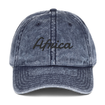Africa (Vintage Cotton Twill Cap)