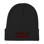 Embroidered (African Warrior Beanie)