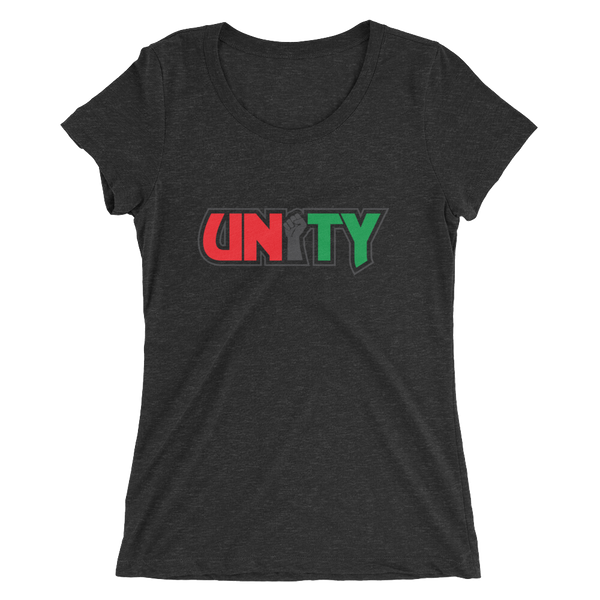 Power in Unity (Ladies' short sleeve t-shirt)