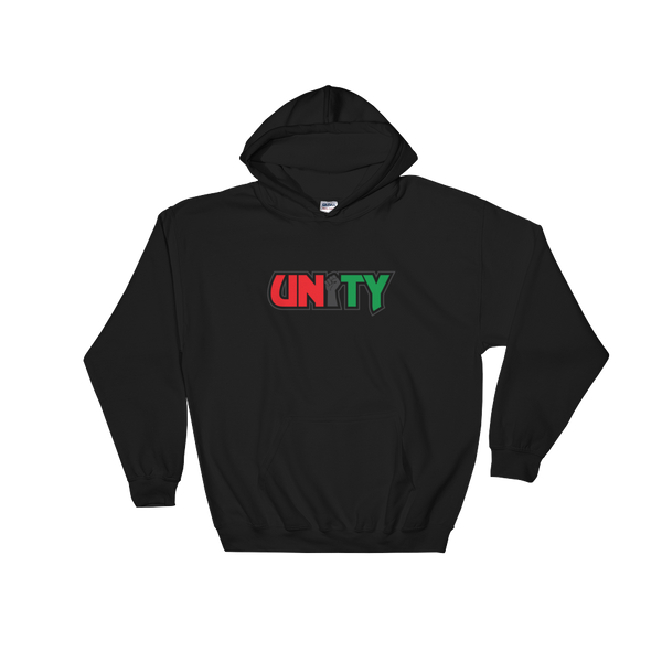 Power in Unity - Black Unisex Hoodie