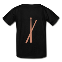 Her Drums (Hanes Youth Tagless T-Shirt) - black