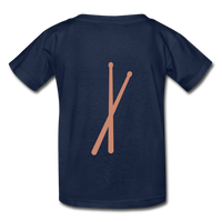 Her Drums (Hanes Youth Tagless T-Shirt) - navy