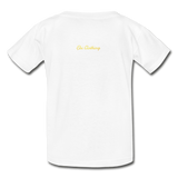 Moose (Hanes Youth Tagless T-Shirt) - white