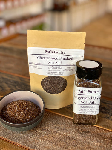 Cherry Wood Smoked Sea Salt