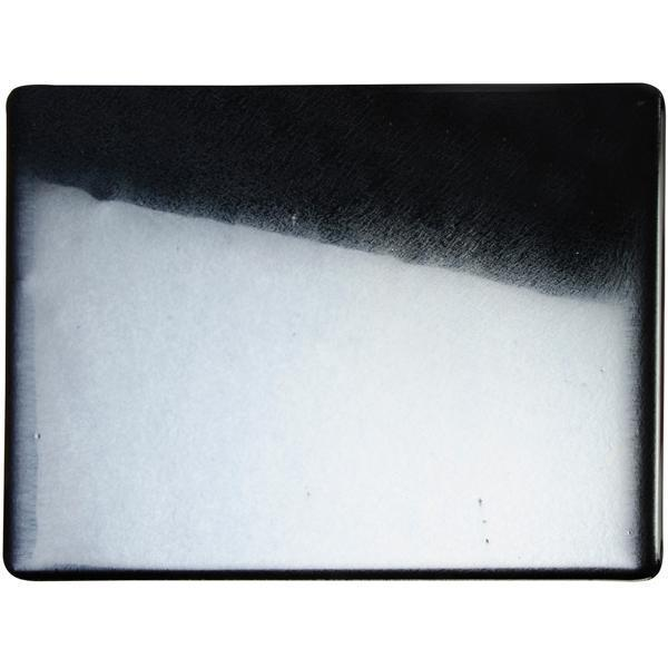 Bullseye Glass 0100-37F 20x35 Black full stock sheet