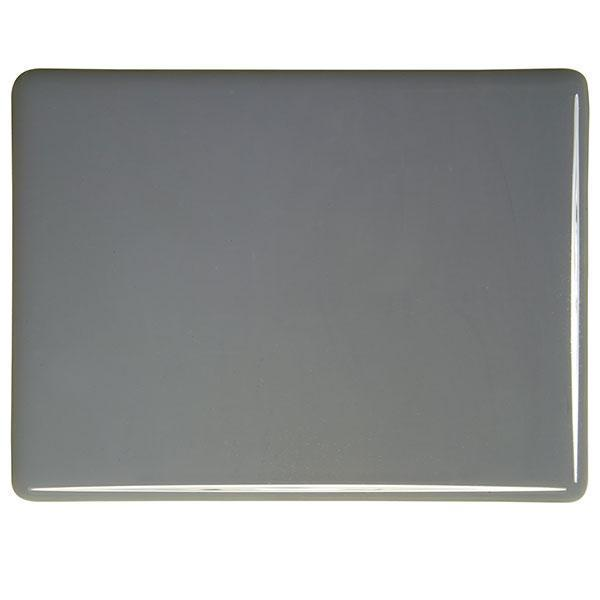 Bullseye Glass 0136-30F 20x35 Deco Gray full stock sheet