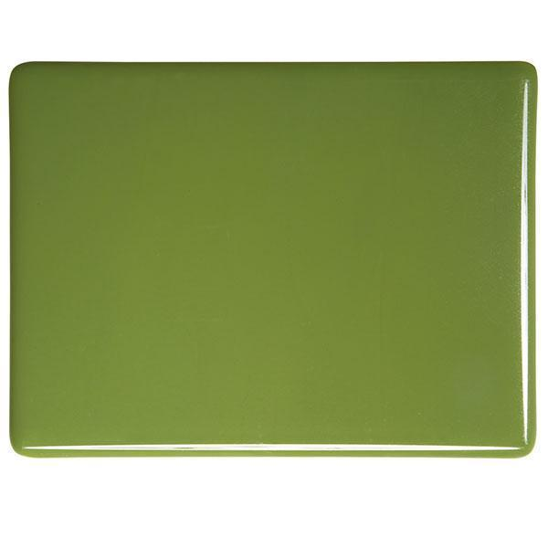 Bullseye Glass 0212-30F 20x35 Olive Green full stock sheet