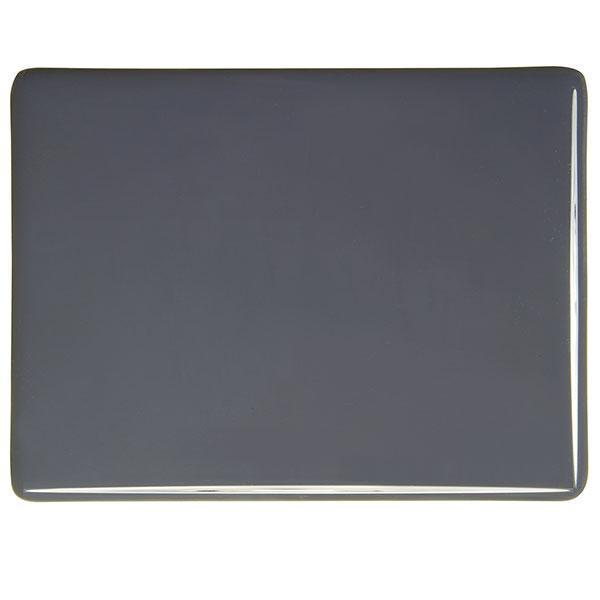 Bullseye Glass 0236-30F 17.5x20 Slate Grey half stock sheet