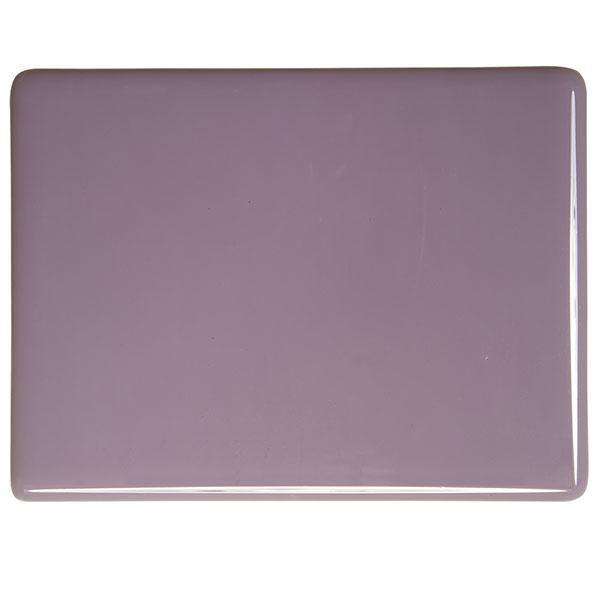 Bullseye Glass 0303-00N 17.5x20 Dusty Lilac Solid Opal Disc. 1/11 half stock sheet