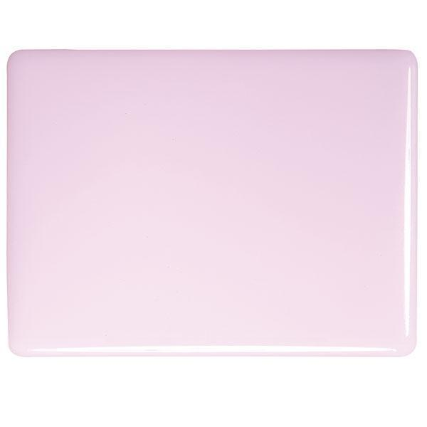 Bullseye Glass 0421-50F 17.5x20 Petal Pink half stock sheet