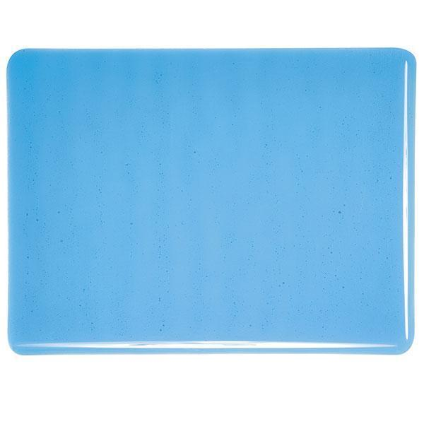 Bullseye Glass 1116-30F 20x35 Turquoise Blue full stock sheet