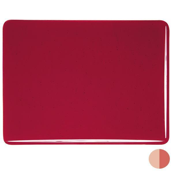 Bullseye Glass 1122-00F 20x35 Red - DISC. sheet 53600000