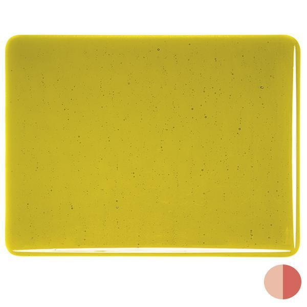 Bullseye Glass 1126-30F 20x35 Chartreuse full stock sheet