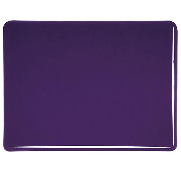 Bullseye Glass 1128-30F 20x35 Deep Royal Purple full stock sheet