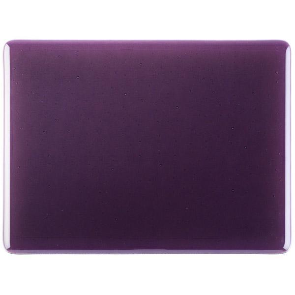 Bullseye Glass 1228-30F 20x35 Amethyst Double Rolled full stock sheet