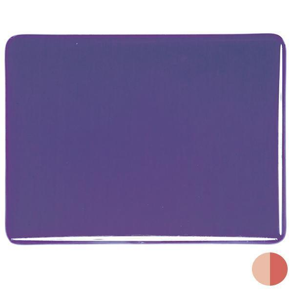 Bullseye Glass 1334-00F 17.5x20 DISC. Gold Purple (Prices Subject to Change) half stock sheet