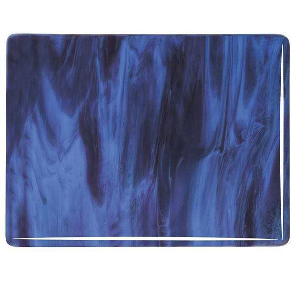 Bullseye Glass 2105-00N 20x35 Blue Opal full stock sheet