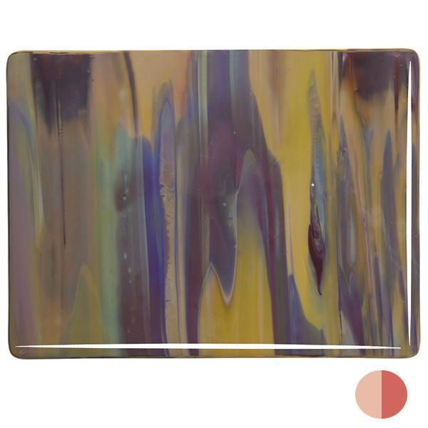 Bullseye Glass 2250-00N 17.5x20 Soft Yellow Opal sheet 64170000