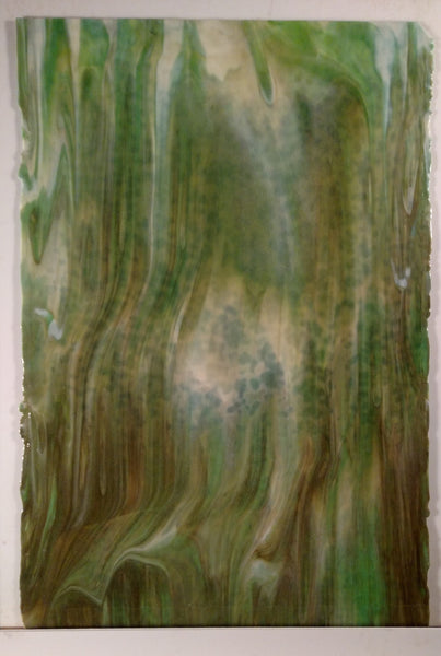 Youghiogheny Glass 2004 HS 18x24 Off-White Opal half stock sheet