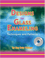 Fusing Books/Dvd/Vhs Designs For Glass Enameling W/Cd Rom By Weiner
