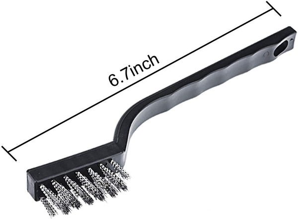 Brushes/Applicators Stainless Steel Black Wire Brush